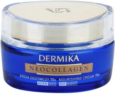 Dermika Neocollagen creme nutritivo para reduzir as rugas e a flacidez da pele 70+