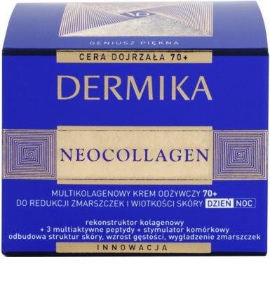 Dermika Neocollagen výživný krém na redukci vrásek a povadlou pleť 70+ 3