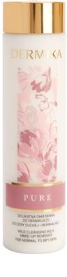 Dermika Pure loción suave limpiadora  para pieles normales y secas
