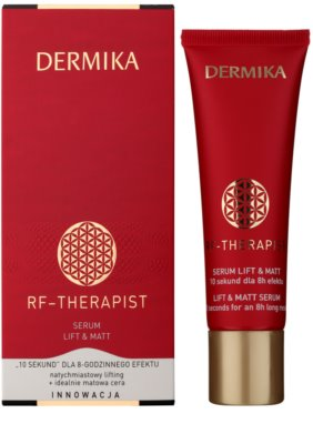 Dermika RF - Therapist pleťové sérum s liftingovým účinkom pre matný vzhľad 1