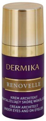 Dermika Renovelle 45+ revitalizáló szemkrém a ráncok és a sötét karikák ellen