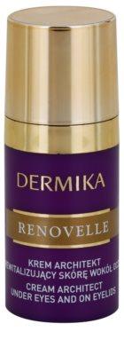Dermika Renovelle 45+ ревитализиращ нощен крем против бръчки и тъмни кръгове