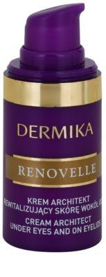 Dermika Renovelle 45+ revitalisierende Augencreme gegen Falten und dunkle Augenringe 1