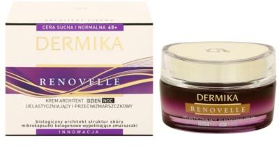 Dermika Renovelle 45+ odnawiający krem przeciwzmarszczkowy 2