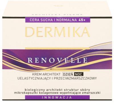 Dermika Renovelle 45+ odnawiający krem przeciwzmarszczkowy 3