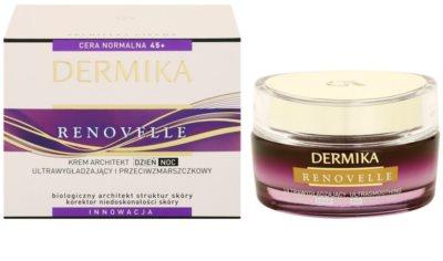 Dermika Renovelle 45+ интензивно възстановяващ крем с анти-бръчков ефект 2