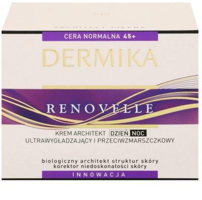 Dermika Renovelle 45+ интензивно възстановяващ крем с анти-бръчков ефект 3