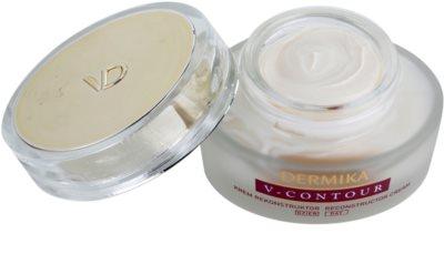 Dermika V-Contour crema antirid cu efect de refacere a densitatii pielii 1