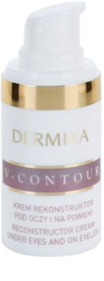 Dermika V-Contour crema restauradora para contorno de ojos 1