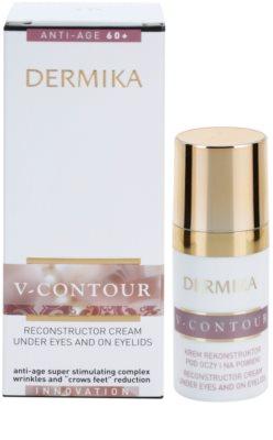 Dermika V-Contour crema restauradora para contorno de ojos 2