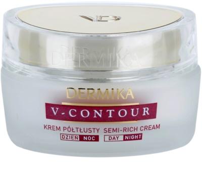 Dermika V-Contour crema hranitoare pentru riduri adanci