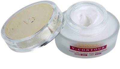 Dermika V-Contour crema nutritiva  para arrugas profundas 1