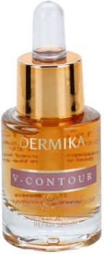 Dermika V-Contour sérum antirrugas para promover a regeneração celular