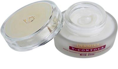 Dermika V-Contour creme de noite renovador com efeito antirrugas 1
