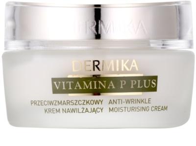 Dermika Vitamina P Plus feuchtigkeitsspendende Creme gegen Falten für empfindliche Haut mit der Neigung zum Erröten