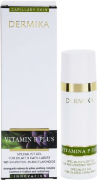 Dermika Vitamina P Plus sérum em gel para veias dilatadas 2