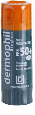 Dermophil Sun защитен балсам за устни SPF 50+