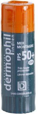Dermophil Sun bálsamo protetor para lábios SPF 50+