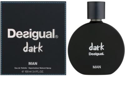 Desigual Dark eau de toilette férfiaknak