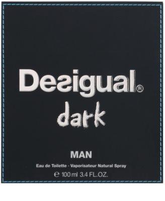 Desigual Dark eau de toilette férfiaknak 1