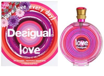 Desigual Love eau de toilette para mujer