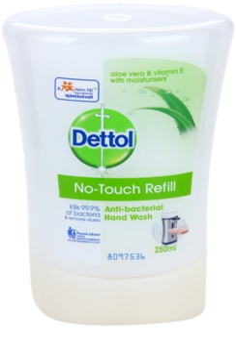 Dettol Antibacterial sabão hidratante antibacteriano recarga