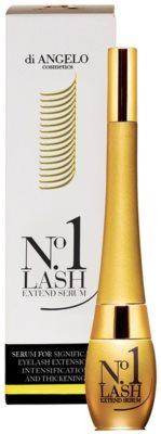 Di Angelo Cosmetics No1 Lash Cерум за значително удължаване на мигли.