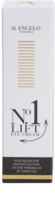 Di Angelo Cosmetics No1 Lift crema para contorno de ojos para alisar las arrugas en un solo instante 1