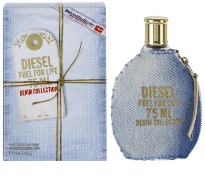 Diesel Fuel for Life Femme Denim Eau de Toilette para mulheres