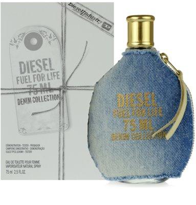 Diesel Fuel for Life Femme Denim туалетна вода тестер для жінок 1