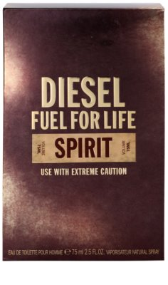Diesel Fuel for Life Spirit toaletna voda za moške 4