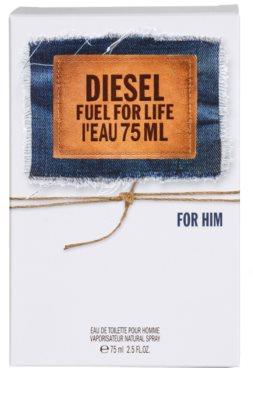 Diesel Fuel for Life L'Eau toaletná voda pre mužov 4