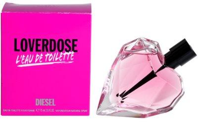 Diesel Loverdose L'Eau de Toilette toaletná voda pre ženy