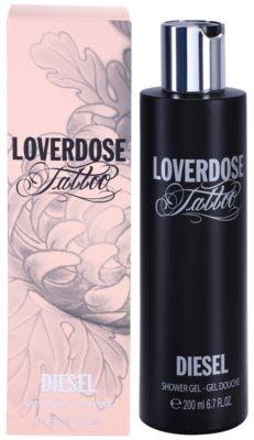 Diesel Loverdose Tattoo gel de dus pentru femei
