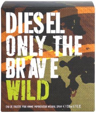 Diesel Only The Brave Wild Eau de Toilette pentru barbati 4