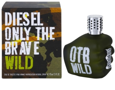 Diesel Only The Brave Wild Eau de Toilette pentru barbati