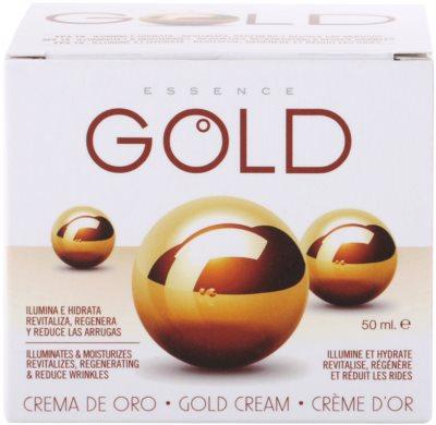 Diet Esthetic Gold Hautcreme mit Goldpuder 3