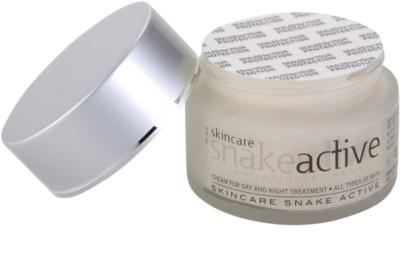 Diet Esthetic SnakeActive crema de día y noche antiarrugas con veneno de serpiente 1