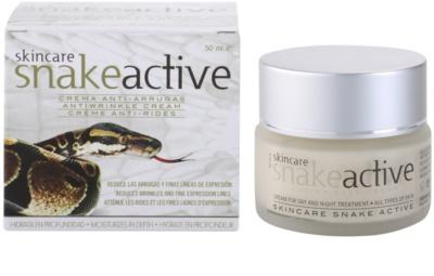 Diet Esthetic SnakeActive crema de día y noche antiarrugas con veneno de serpiente 2