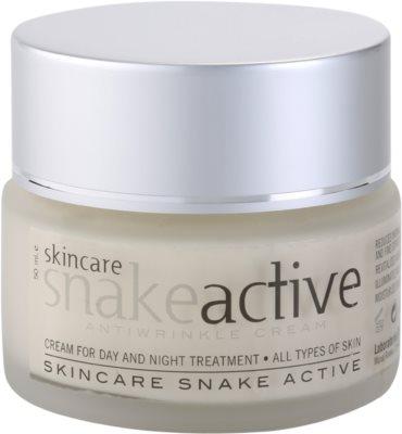 Diet Esthetic SnakeActive crema de día y noche antiarrugas con veneno de serpiente