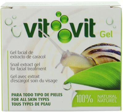 Diet Esthetic Vit Vit gel pentru fata cu extract de melc 1