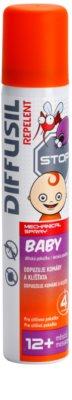 Diffusil Repellent Baby Spray repelente de mosquitos e carrapatos