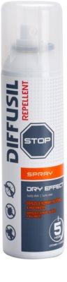 Diffusil Repellent Dry Effect spray de repelir mosquitos e carrapatos