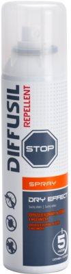 Diffusil Repellent Dry Effect sprej odpudzujúci komáre, kliešte a muchničky
