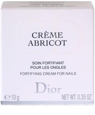 Dior Crème Abricot krem do paznokci 2