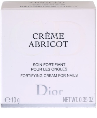 Dior Crème Abricot crema pentru unghii 2