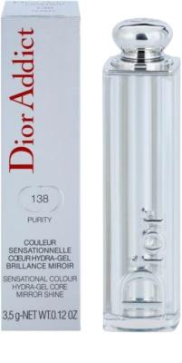 Dior Addict Lipstick Hydra-Gel hydratační rtěnka s vysokým leskem 3