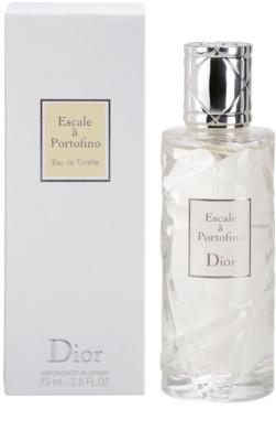 Dior Les Escales de Dior Escale a Portofino Eau de Toilette pentru femei