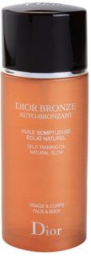 Dior Dior Bronze Auto-Bronzant önbarnító olaj arcra és testre