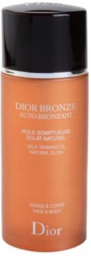 Dior Dior Bronze Auto-Bronzant samoporjavitveno olje za obraz in telo